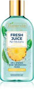 Bielenda Fresh Juice Pineapple água micelar para pele radiante