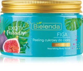 Bielenda Exotic Paradise Fig šećerni peeling s hranjivim učinkom