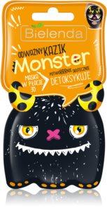 Bielenda Monster detoxifying face sheet mask 3D