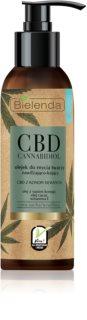 Bielenda CBD Cannabidiol ulei de curatare pentru ten uscat si sensibil