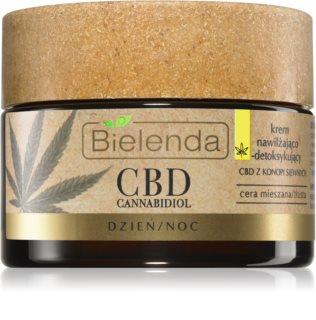 Bielenda CBD Cannabidiol creme hidratante com óleo de cannabis