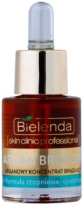 Bielenda Skin Clinic Professional Argan Bronzer Self-Tanning Oil for Face