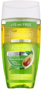 Bielenda Avocado нежен двуфазен продукт за отстраняване на грим за чувствителни очи