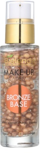 Bielenda Make-Up Academie Bronze Base Bronzer und Make-up Basis unter dem Make-up
