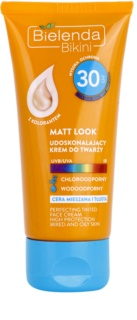 Bielenda Bikini Matt Look захисний тональний крем для змішаної та жирної шкіри SPF 30