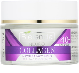 Bielenda Neuro Collagen зволожуючий крем проти зморшок 40+