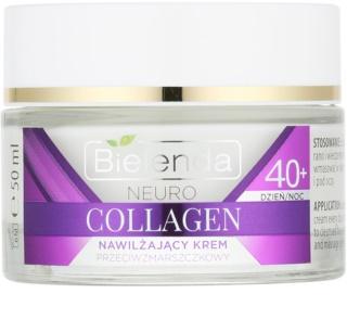 Bielenda Neuro Collagen creme hidratante antirrugas 40+