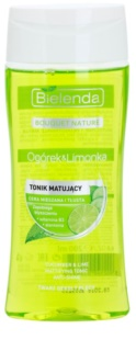 Bielenda Cucumber&Lime Mattifying Toner For Oily Skin