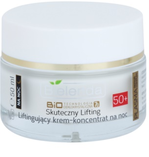 Bielenda BioTech 7D Effective Lifting 50+ Active Nachtcrème met Anti-Rimpel Werking