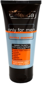 Bielenda Only for Men Extra Energy crème hydratante intense anti-signes de fatigue