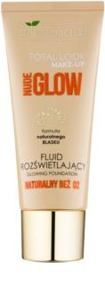 Bielenda Total Look Make-up Nude Glow machiaj lichid lucios