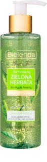 Bielenda Green Tea gel micelar de curățare pentru ten mixt si gras