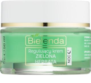 Bielenda Green Tea nočna krema za normalizacijo kože za mešano kožo