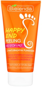 Bielenda Happy End esfoliante para pés e calcanhares com pedra-pomes natural