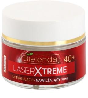 Bielenda Laser Xtreme 40+ ενυδατική κρέμα ημέρας με ανυψωτική επίδραση με  λιφτινγκ  αποτελέσματα