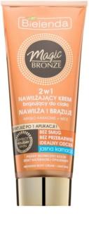 Bielenda Magic Bronze crema de auto-bronzare pentru piele  deschisa cu efect de hidratare