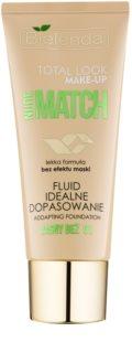 Bielenda Total Look Make-up Nude Match make-up fluid pentru uniformizarea nuantei tenului