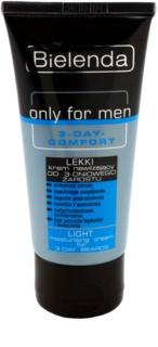 Bielenda Only for Men 3-Day Comfort crème légère hydratante pour apaiser la peau