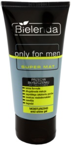 Bielenda Only for Men Super Mat gel hydratant anti-brillance et pores dilatés