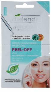 Bielenda Professional Formula Peel - Off Gel Mask For Pore Minimizer And Matte  Looking Skin