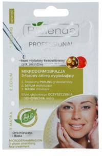 Bielenda Professional Formula пілінг, сироватка та маска для жирної шкіри зі схильністю до акне
