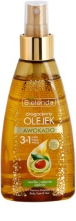 Bielenda Precious Oil  Avocado Nurturing Oil On Face, Body And Hair