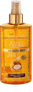 Bielenda Precious Oil  Argan Nurturing Oil On Face, Body And Hair