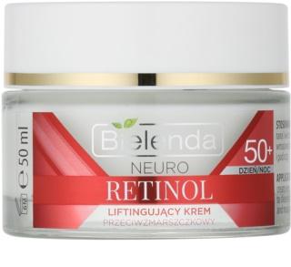 Bielenda Neuro Retinol creme com efeito lifting  50+