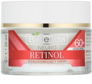 Bielenda Neuro Retinol creme reparador antirrugas 60+