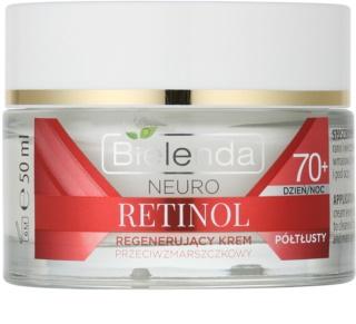 Bielenda Neuro Retinol creme regenerador anti-envelhecimento 70+