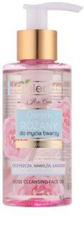 Bielenda Rose Care розово почистващо масло за чувствителна кожа на лицето