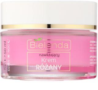 Bielenda Rose Care crème hydratante à la rose pour peaux sensibles