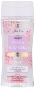 Bielenda Rose Care lotion nettoyante apaisante à la rose 3 en 1