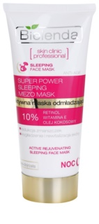 Bielenda Skin Clinic Professional Rejuvenating Maske für die Nacht mit Verjüngungs-Effekt