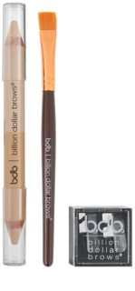 Billion Dollar Brows Color & Control set pentru sprancene perfecte