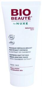 Bio Beauté by Nuxe Rebalancing máscara matificante com extrato de arando vermelho fechar os  poros