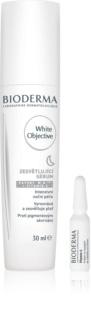 Bioderma White Objective rozjaśniające serum na noc przeciw przebarwieniom skóry