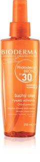 Bioderma Photoderm Bronz Tan-Prolonging Protective Dry Oil in Spray SPF 30