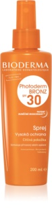 Bioderma Photoderm Bronz spray protector para mantener y prolongar el bronceado natural SPF 30