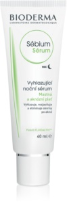 Bioderma Sébium Sérum Cleansing Night Serum with Exfoliating Effect