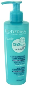 Bioderma ABC Derm Lait de Toilette Hypoallergenic Cleansing Milk for Kids