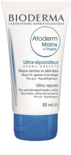 Bioderma Atoderm crema de maini pentru piele foarte sensibila sau cu dermatita atopica