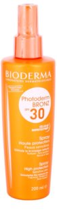 Bioderma Photoderm Bronz zaščitno pršilo za podporo in podaljšanje naravne porjavelosti SPF 30