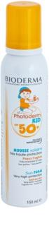 Bioderma Photoderm Kid Spumă de bronzare pentru copii SPF 50+