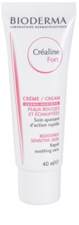 Bioderma Sensibio Forte Moisturizing And Soothing Cream For Sensitive Skin Prone To Redness