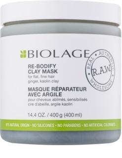 Biolage RAW Uplift jílová maska pro jemné a zplihlé vlasy