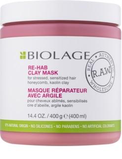 Biolage RAW Recover jílová maska pro slabé, namáhané vlasy