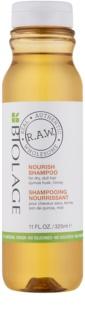 Biolage RAW Nourish shampoing nourrissant pour cheveux secs et rêches