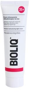Bioliq 35+ відновлюючий нічний крем проти зморшок