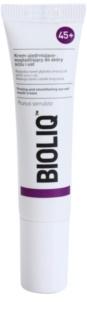 Bioliq 45+ зміцнюючий крем проти глибоких зморшок для шкіри навколо очей та губ